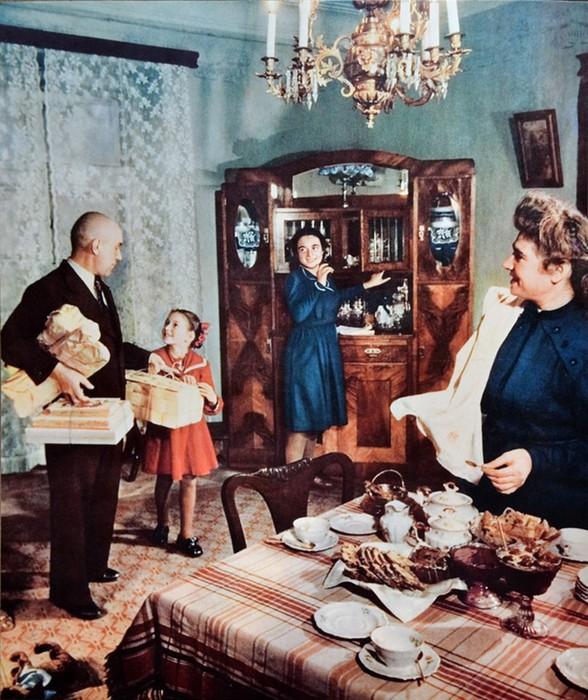 Кто в сталинские времена жил в отдельных квартирах