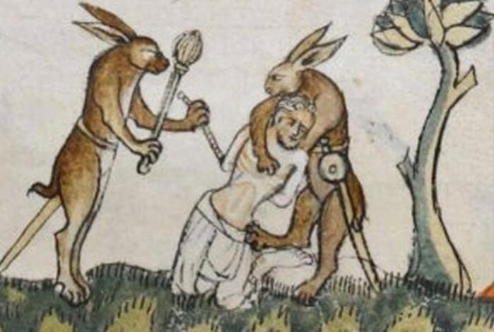 Интересные факты о странном искусстве Средневековья