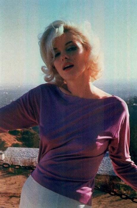 Последняя фотосессия Мэрилин Монро
