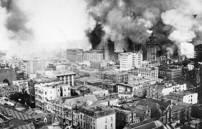 10 самых крупных пожаров в истории человечества
