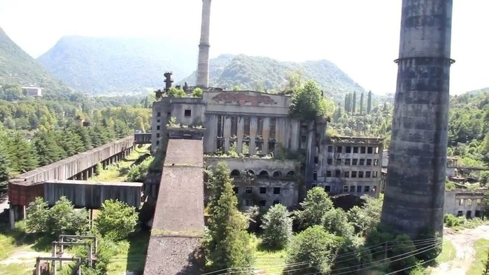 Заброшенные города Абхазии: фотографии