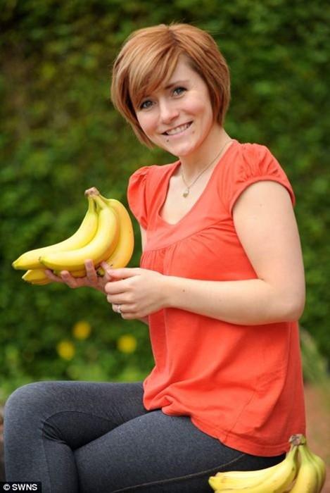 Девушка боялась бананов из за детской фобии