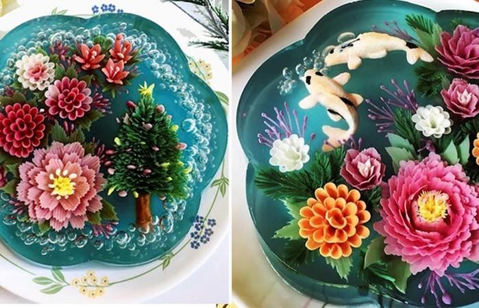 Новый тренд кулинарии— цветочные ЗD торты