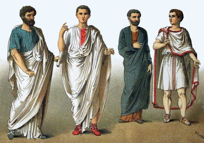 Как менялся мужской костюм от античности до наших дней