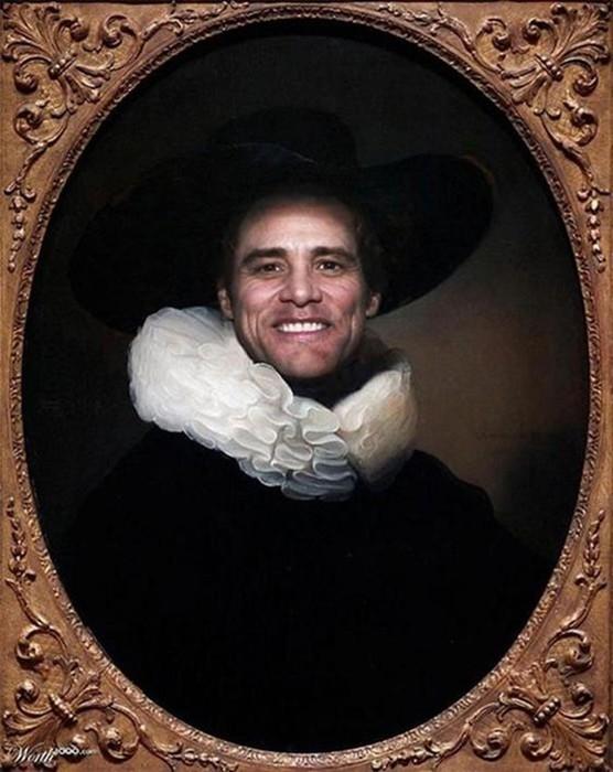 Портреты знаменитостей в старинном стиле