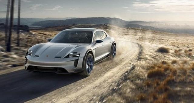Электрический кроссовер Porsche: конкурент Tesla Model X