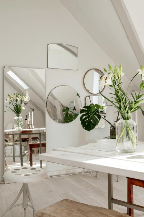 10 идей с зеркалами, которые одним махом смогут изменить восприятие интерьера