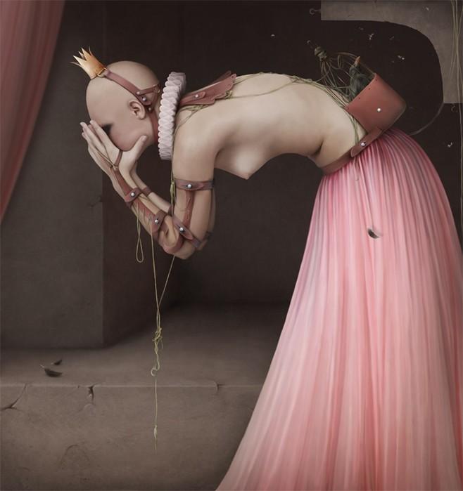 Фотохудожница Лариса Кулик и ее сюрреалистические работы