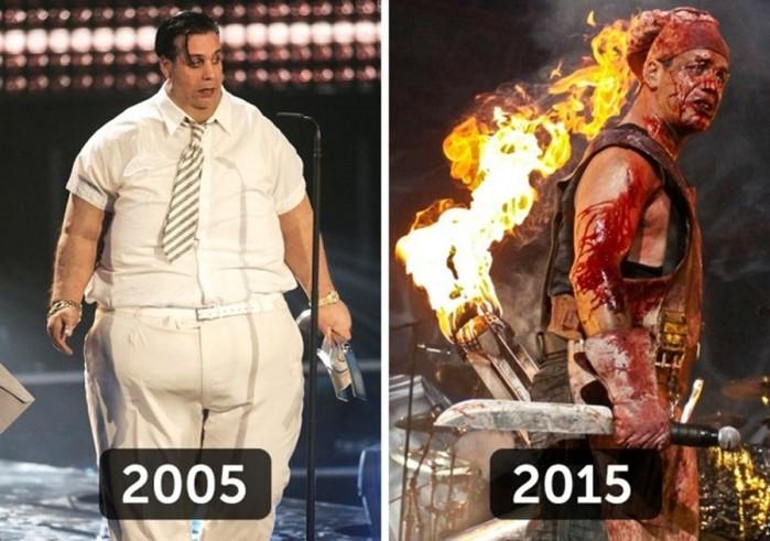 Как изменились рок звезды 2000 х годов в наши дни