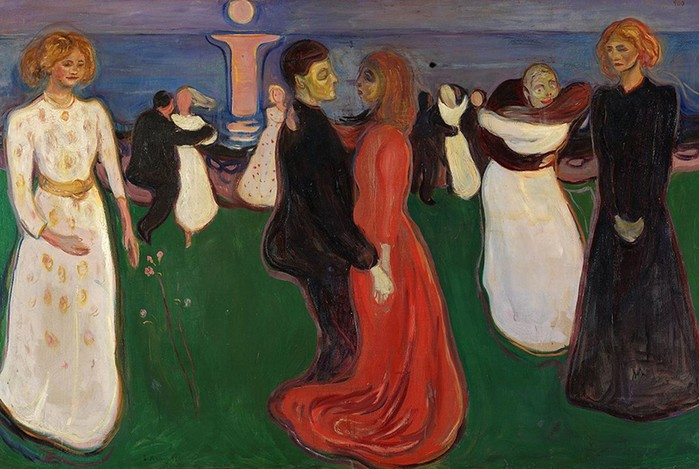 Эдвард Мунк: голые любовницы, потеря невинности ияркая тревога самого дорогого художника