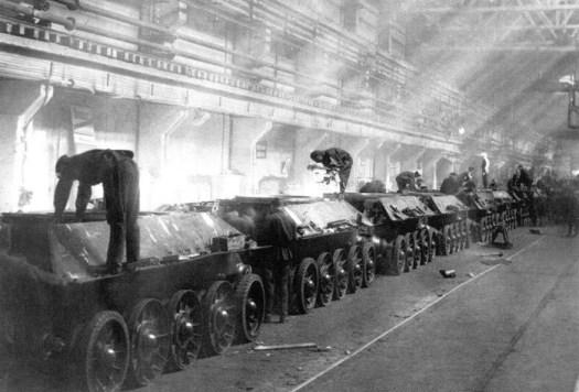 Как работали заводы во время Второй мировой войны