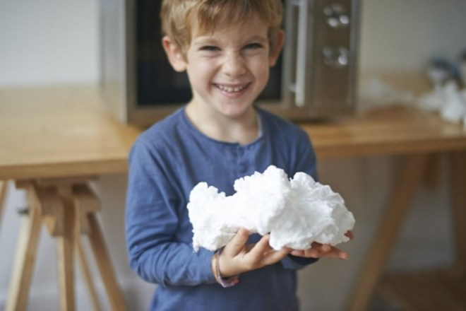 Что хорошего происходит с мылом в микроволновке