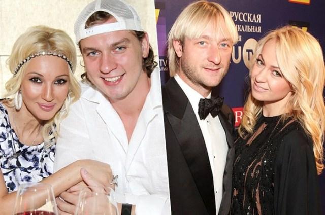 Российские знаменитости, которые выбирают мужчин помоложе