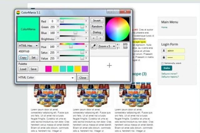 Бесплатная программа ColorMania: как точно определить цвет