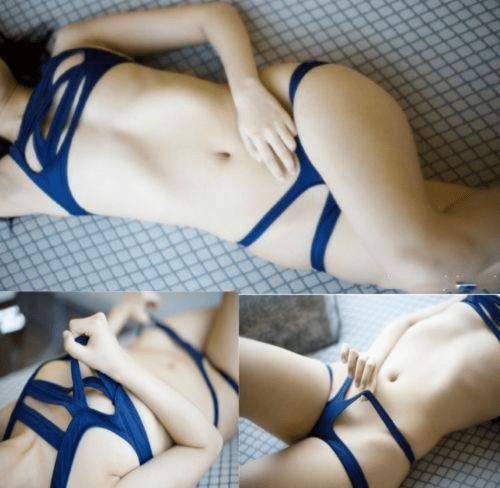 Японские откровенные купальники в стиле бондаж— новый тренд лета