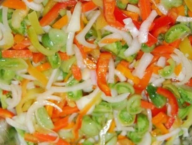 Вкусные салаты на зиму из зеленых помидоров