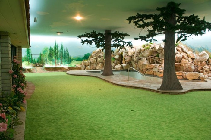 Особняк с секретом— подземный бункер в Лос Анджелесе (фото, видео)