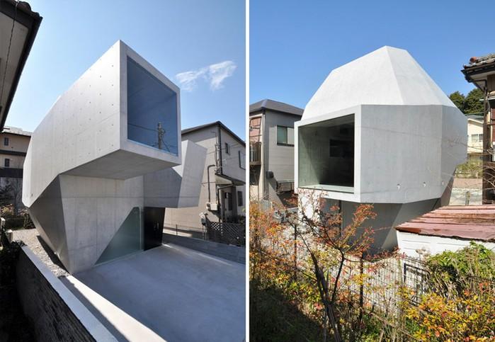 Необычная японская архитектура поражает с первого взгляда: 33 фотографии