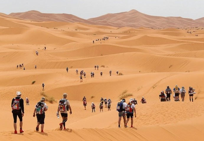 Большая и горячая! Африканская пустыня Сахара