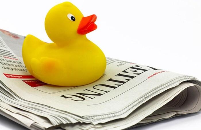 Как появились «газетные утки»?