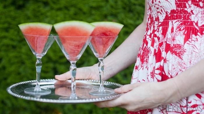 Пьяный арбуз   секреты приготовления