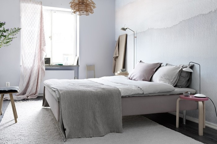 Дизайн спальни в скандинавском стиле