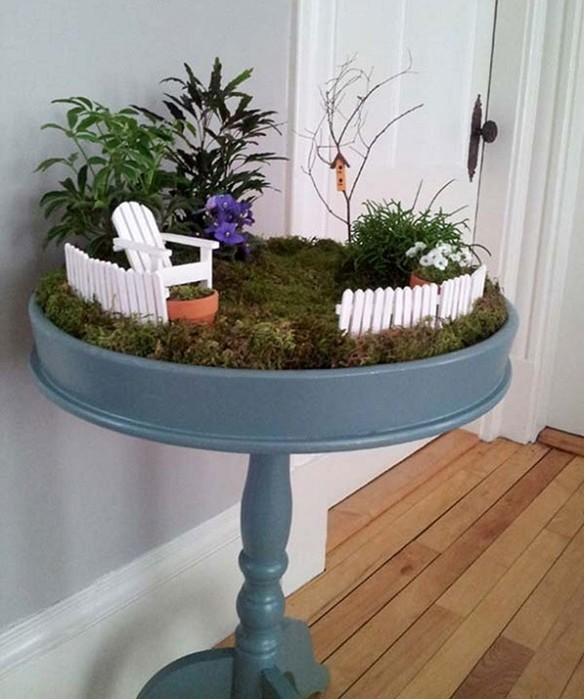 Идеи мини сада в домашних условиях