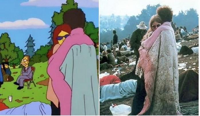 Как Симпсоны воссоздали ключевые моменты мировой истории. Жизнь в картинках!