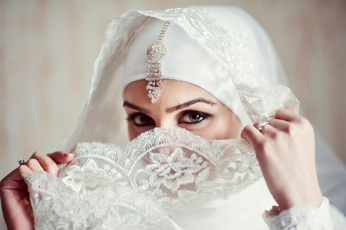 Женщина в исламе: 25 фотографий мусульманских невест в свадебных хиджабах