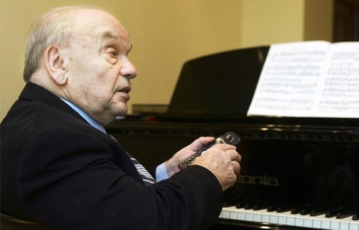 Ушел из жизни композитор Владимир Шаинский