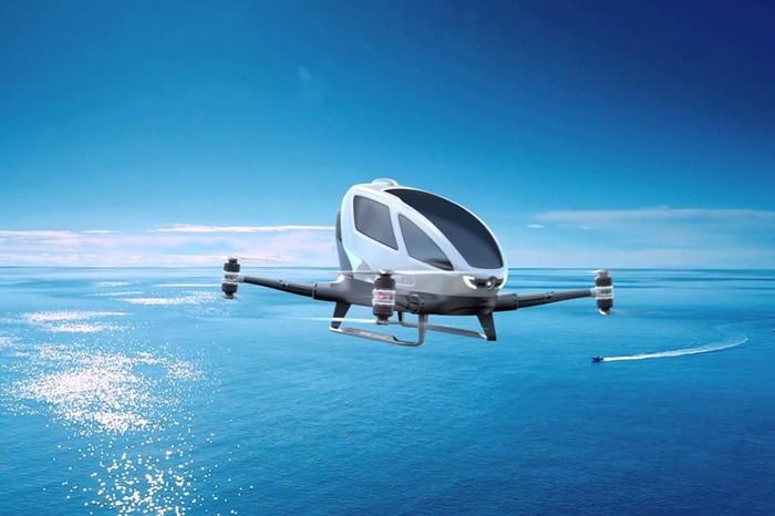 Первые летающие машины поступят в продажу уже в 2018 году