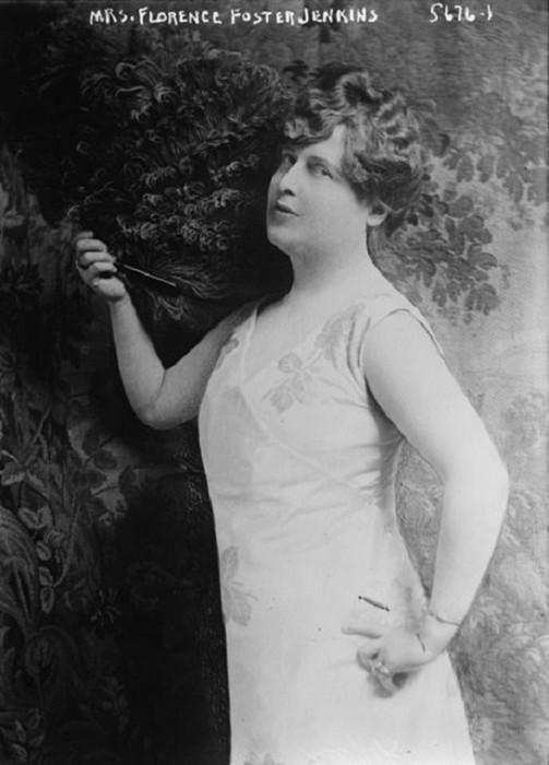 Флоренс Фостер Дженкинс— оперная певица, которая не умела петь