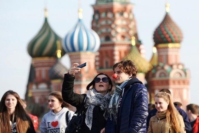 Ошибки иностранных туристов в Москве