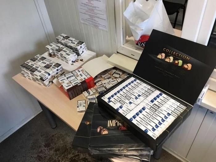 Как белорусские контрабандисты доставляют в Литву миллионы сигарет: фото с таможни