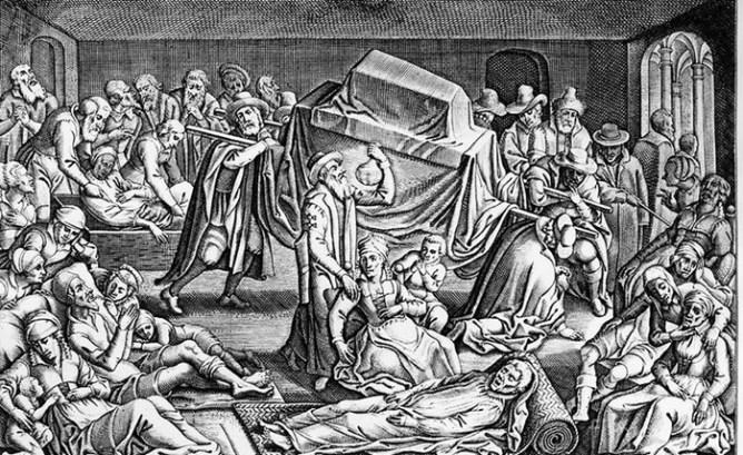 Уничтожить все человечество могут смертельные пандемии