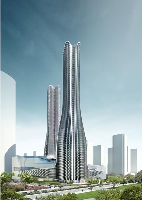 5 супер современных зданий, которые появятся в Китае в ближайшее время