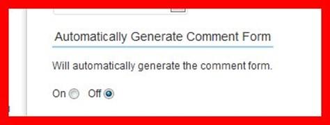 Форма комментариев ушла вправо. Неправильно сгенерирована форма плагином Spam Free Wordpress