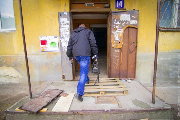 Как происходит аварийное вскрытие дверей: фотографии
