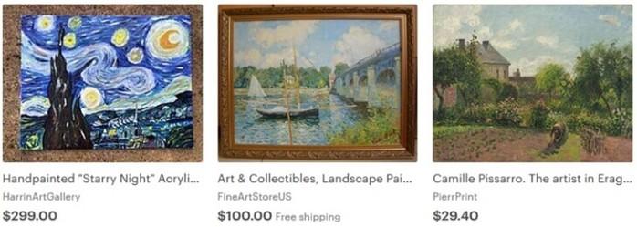 Как и где продать картину через интернет