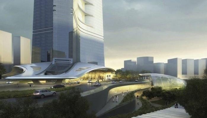 Города будущего! 10 потрясающих архитектурных проектов мира