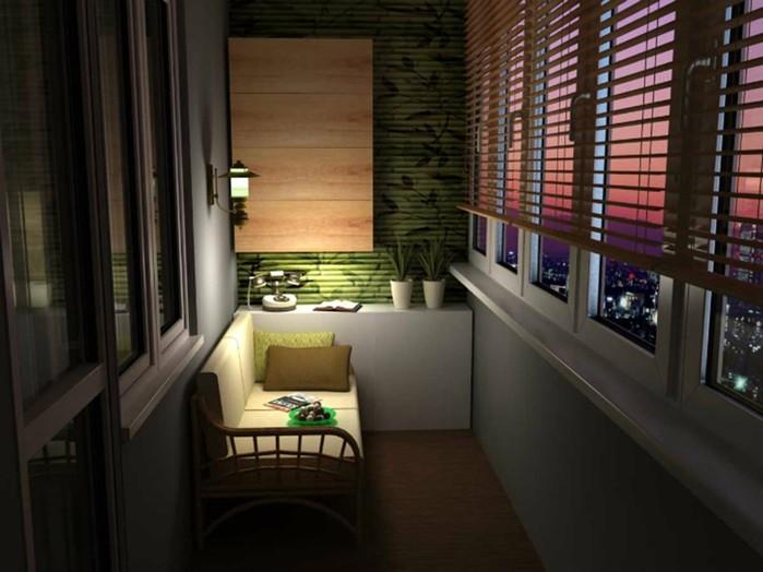 17 идей, как превратить лоджию в райское местечко для отдыха