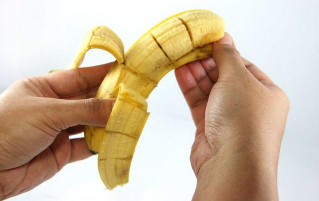 Банан және арнайы қаптама