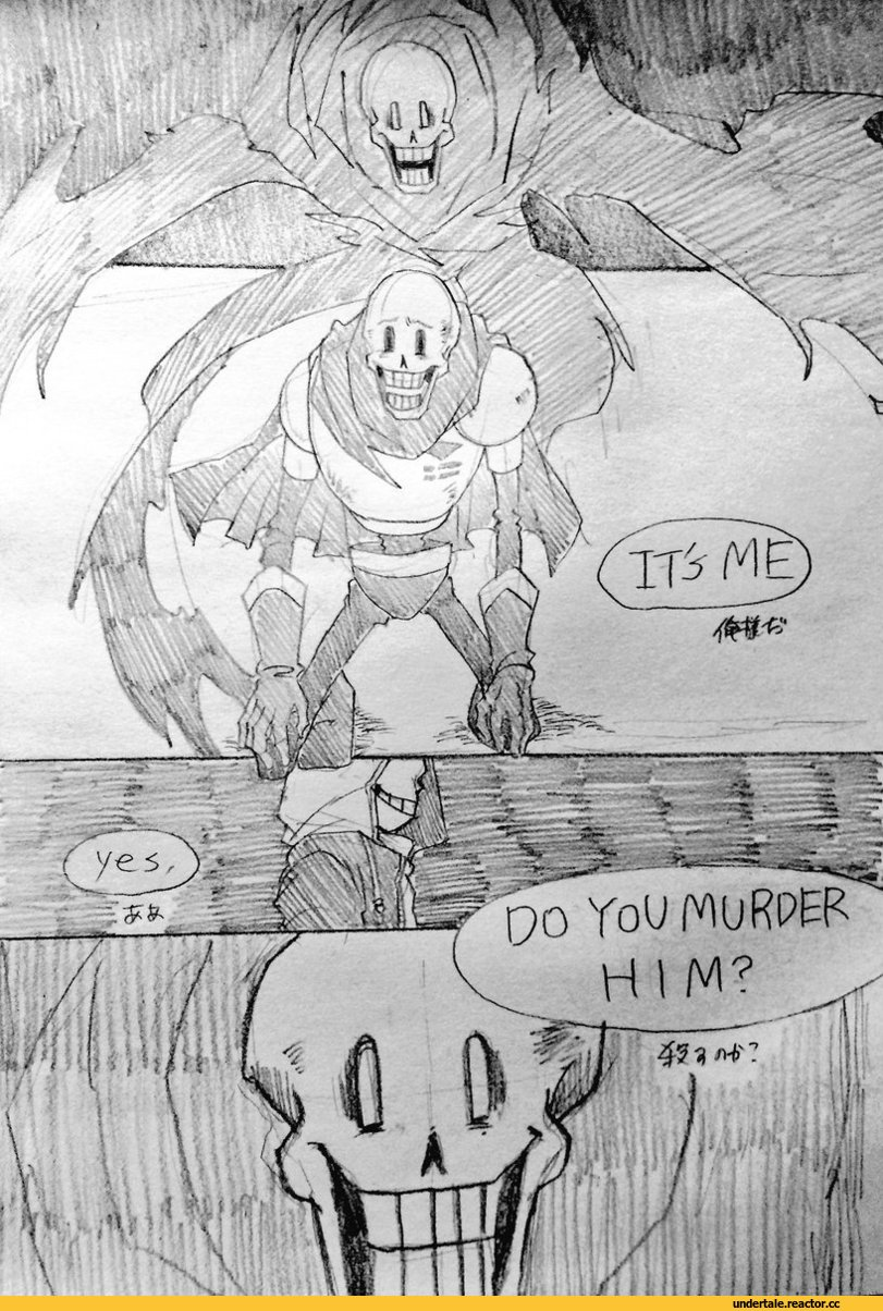 Vs And Gaster Sans Papyrus