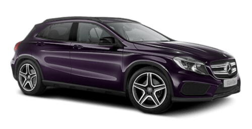 Little Violet Mercedes Benz MSB