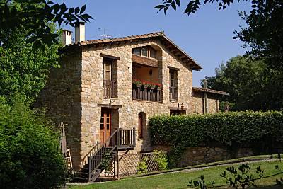 Masía típica Catalana en La Garrotxa Girona/Gerona