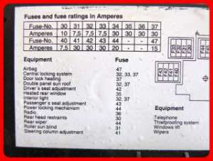 1995 Toyota Tercel fuse box relay