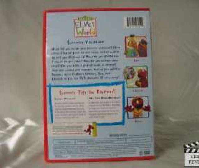 Elmos World Summer Vacation Dvd 2008 891264001502