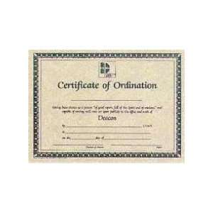 photograph about Printable Ordination Certificate identified as deacon ordination certification template. deacon ordination
