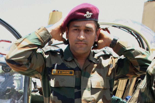 Meet Lieutenant Colonel Mahendra Singh Dhoni