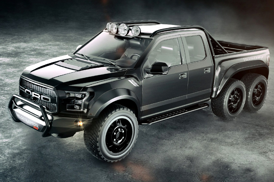 Hennessey VelociRaptor 6x6 Is Here to Challenge the